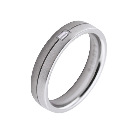 Gerstner Ring Gerstner Platinum white gold diamond band
