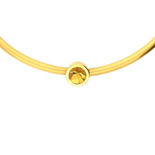 Henrich & Denzel Necklace 18ct Gold & Citrine necklace