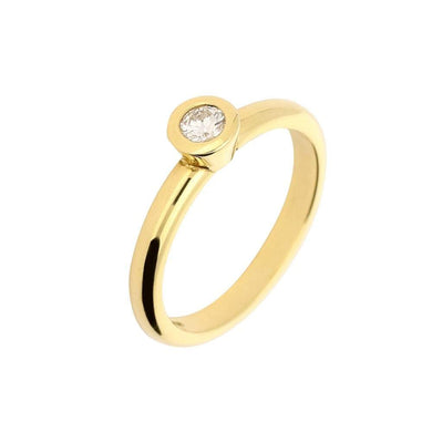 Jeremy Hoye Ring Jeremy Hoye 18ct gold brilliant cut diamond ring
