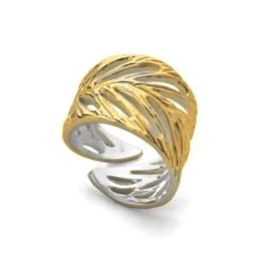 Jorge Revilla Ring Jorge Revilla Silver yellow gold Hoja ring