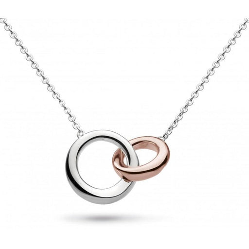 Kit Heath Necklace Kit Heath Silver and rose gold plate bevel cirque link necklace