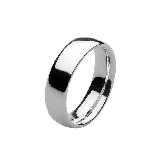 Kit Heath Ring Kit Heath Silver heirloom 6mm court ring