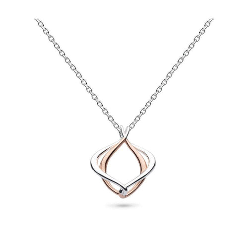 Kit Heath Pendant Kit Heath Silver rose gold infinity alicia pendant
