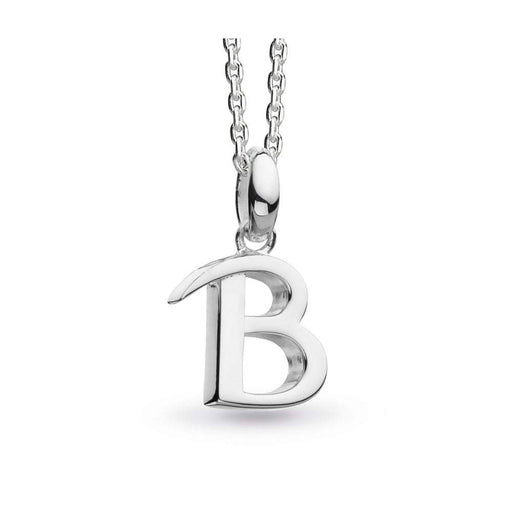 Kit Heath Pendant Kit Heath Silver signature B pendant
