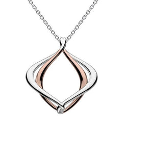 Pendant Kit Heath Silver rose gold alicia infinity large pendant
