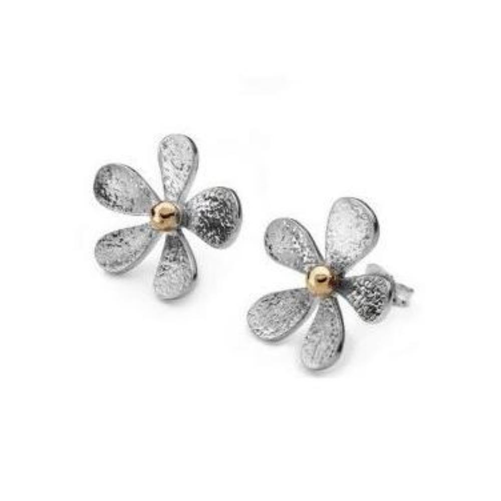 Linda Macdonald Earrings Linda Macdonald Silver 9ct daisy studs