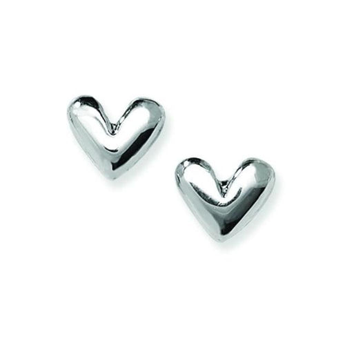 Linda Macdonald Earrings Linda Macdonald Silver charmed heart studs