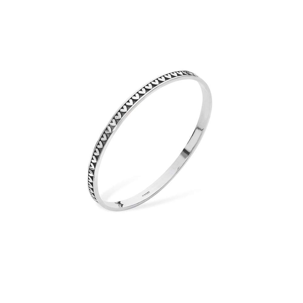 Linda Macdonald Bangle Linda Macdonald Silver moondance bangle