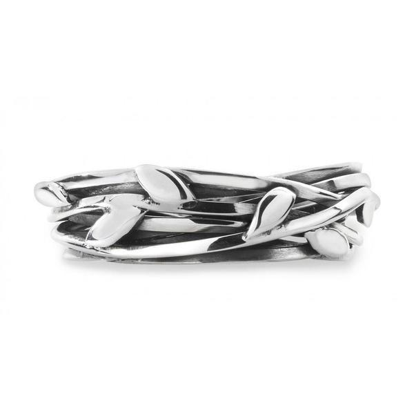 Ring Linda Macdonald Silver entwined butterfly ring