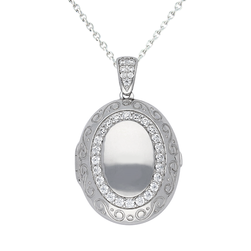 Lola Locket Locket Lola Locket Silver Bella locket