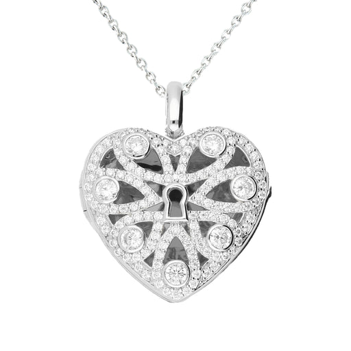 Lola Locket Locket Lola Locket Silver Lara heart locket