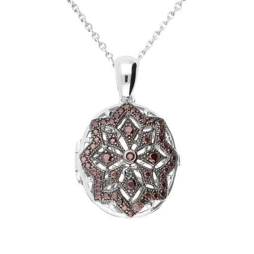Lola Locket Locket Lola Locket Silver red Tilda locket