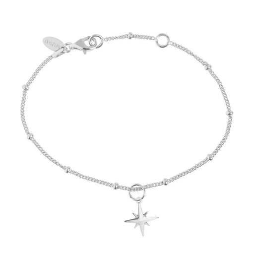 Muru Bracelet Muru Silver beaded star hope bracelet