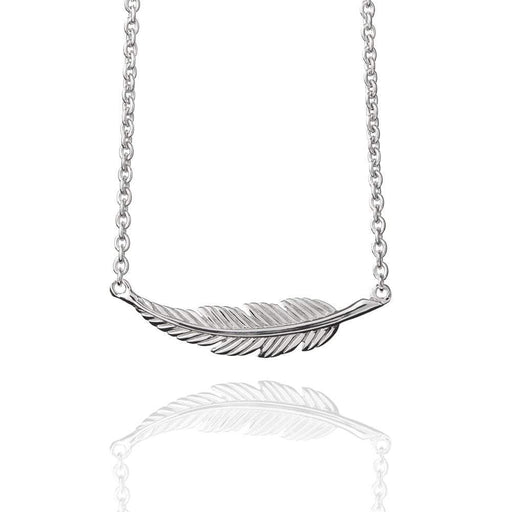 Muru Necklace Muru Silver feather necklace