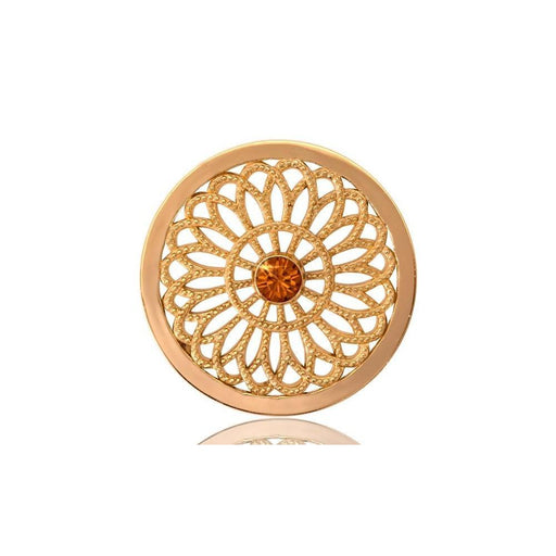 Nikki Lissoni Coin Nikki Lissoni Gold Vintage Flower coin C1097GM