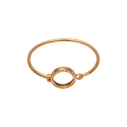 Nikki Lissoni Bangle Nikki Lissoni yellow gold coin bangle 19cm