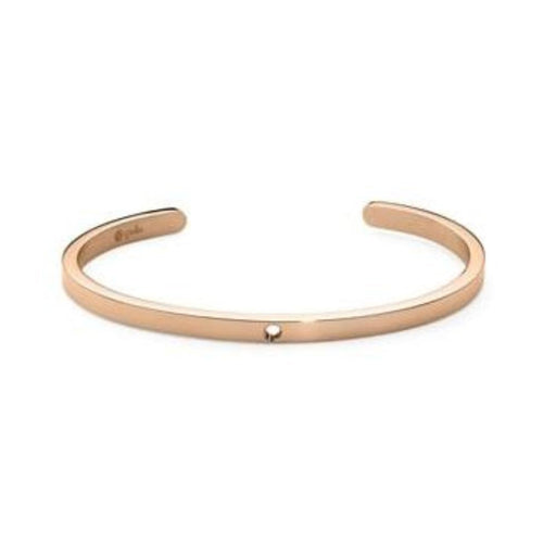 Qudo Composable Rings Bangle Qudo rose gold plated Steel interchangable 3/4 bangle