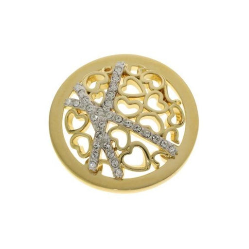 Quoins Coin Quoins gold healing hearts coin