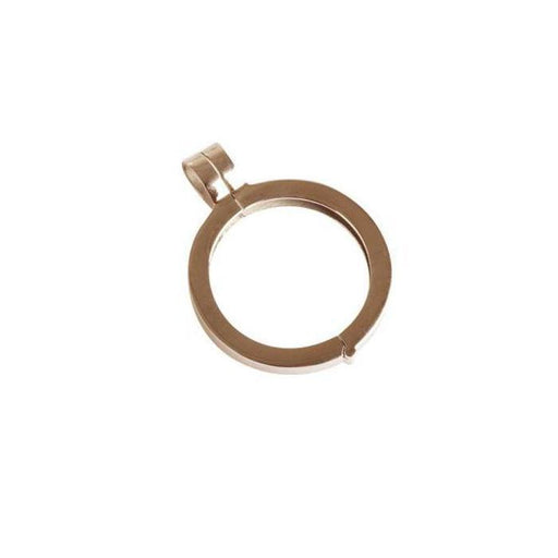 Quoins Pendant Quoins Rose Gold medium pendant