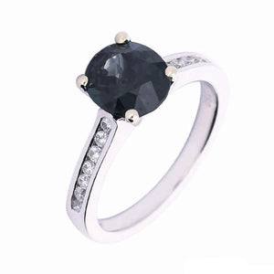 Rock Lobster Ring 18ct white gold spinel diamond ring