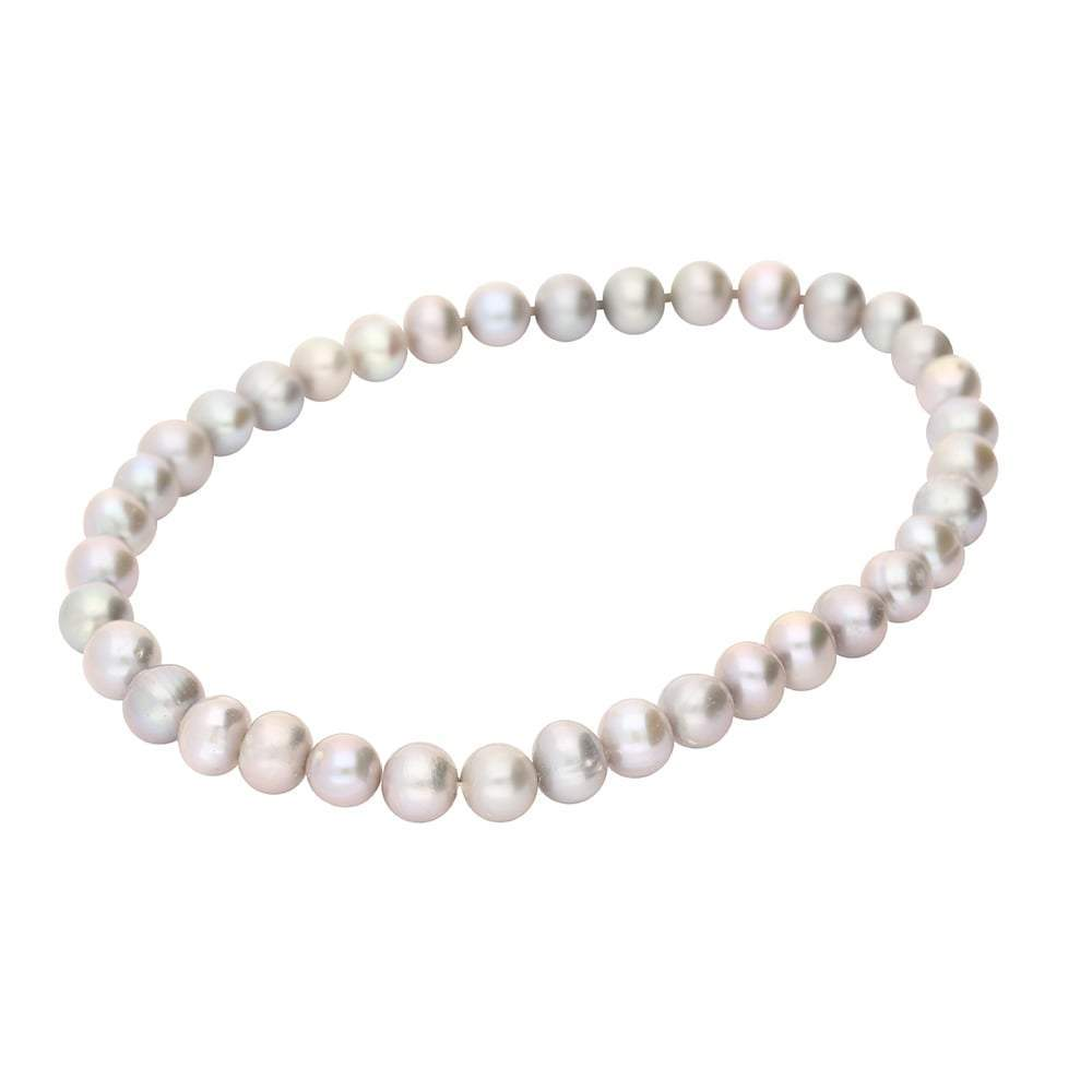 Rock Lobster Bracelet Grey pearl elasticated bracelet