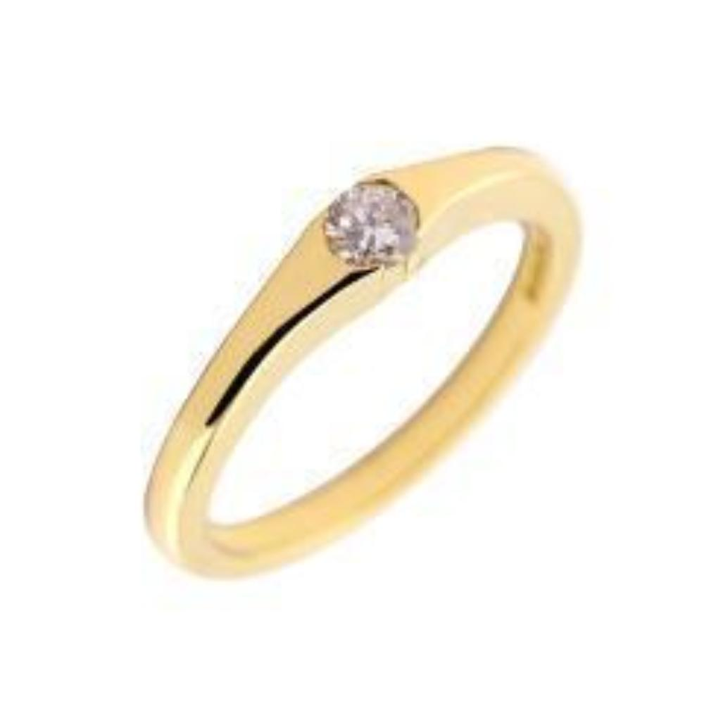 Rock Lobster Jewellery Ring 18ct Yellow Gold 0.17ct diamond ring