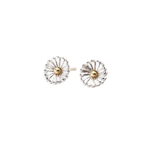 Rock Lobster Jewellery Earrings Church House Silver gold sunflower stud earrings
