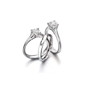Rock Lobster Jewellery Ring Furrer Jacot Platinum 0.30ct single diamond ring