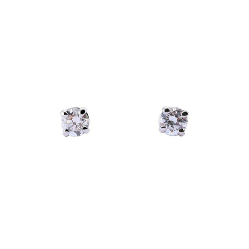 Rock Lobster Jewellery Earrings Platinum four claw set 0.20ct diamond stud earrings