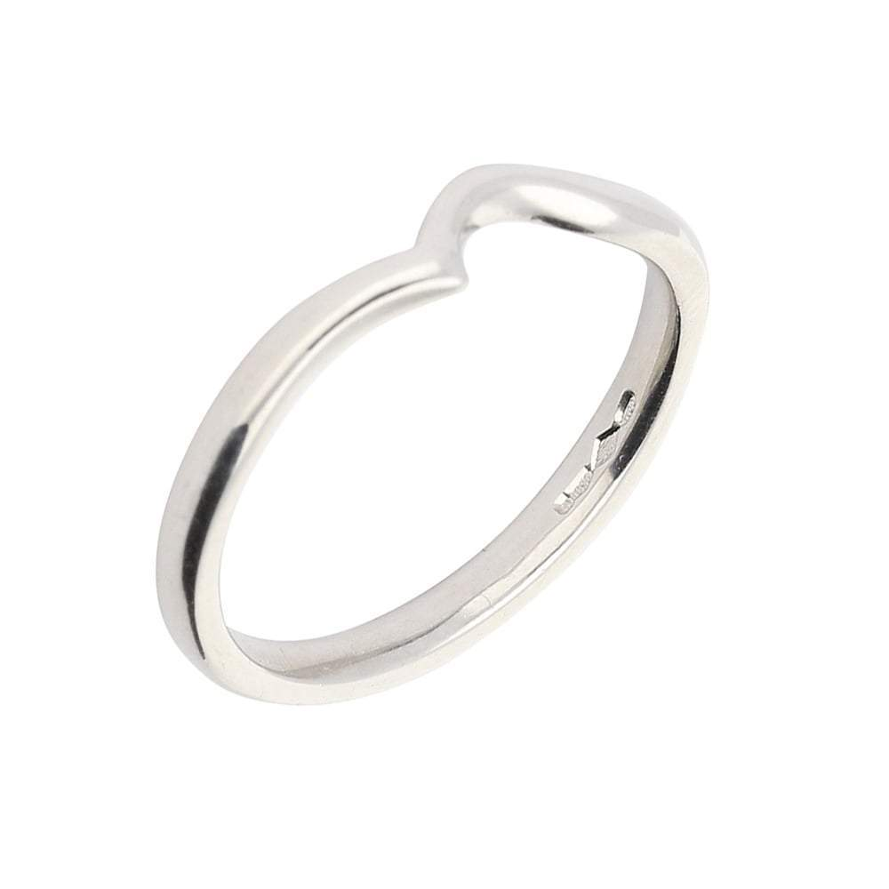 Rock Lobster Jewellery Ring Platinum shaped band