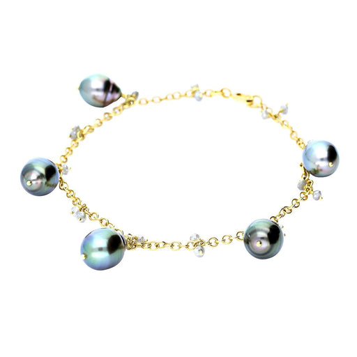 Rock Lobster Jewellery Bracelet Tahitian pearl and diamond bracelet