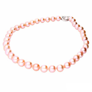 Rock Lobster Neckwear Pink freshwater 12mm pearl necklace