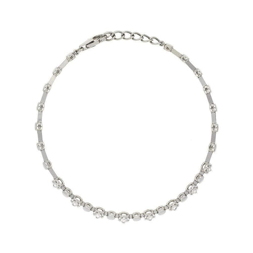 Rock Lobster Bracelet Rosabella 18ct white gold diamond line bracelet