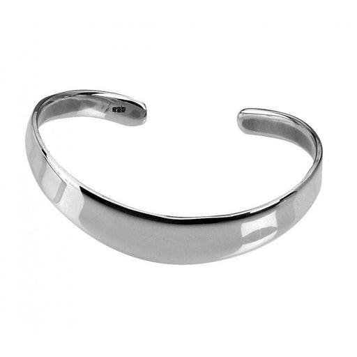 bracelet product great bangles frog thick link bangle silver the front