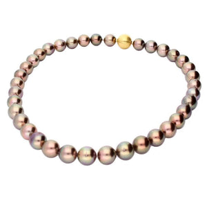 Rock Lobster Neckwear Tahitian pearl necklace with 18ct Gold clasp