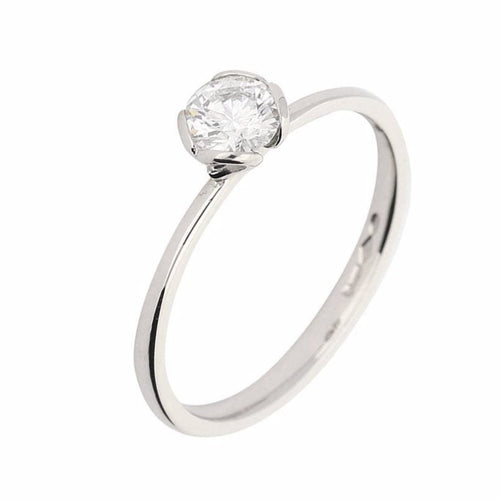 Rock Lobster Ring The jane ring is made in platinum and set with a brilliant cut diamond