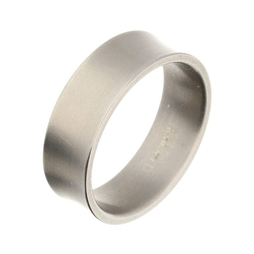 Rock Lobster Ring Titanium concave band