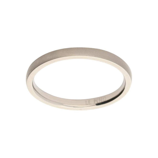 Rock Lobster Ring Titanium court band