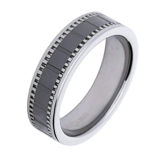 Rock Lobster Ring Tungsten ceramic ring
