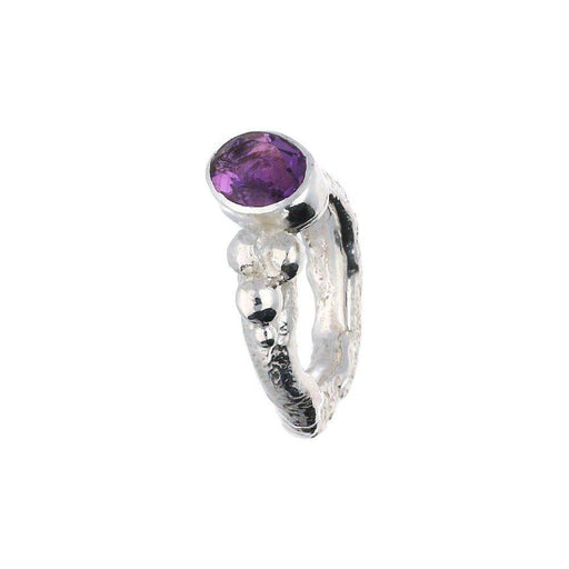 Sally Ratcliffe Ring Sally Ratcliffe Silver Amethyst pebbles ring