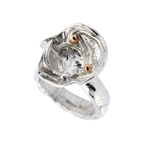 Sally Ratcliffe Ring Sally Ratcliffe Silver and rose gold seaflower ring