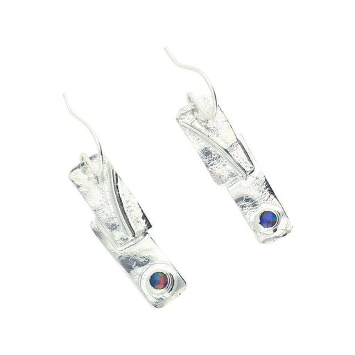 Sally Ratcliffe Earrings Sally Ratcliffe Silver moonstone strata hook earrings