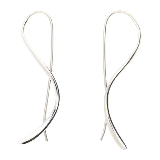 Sarah Jordan Earrings Sarah Jordan silver shadow hook earrings
