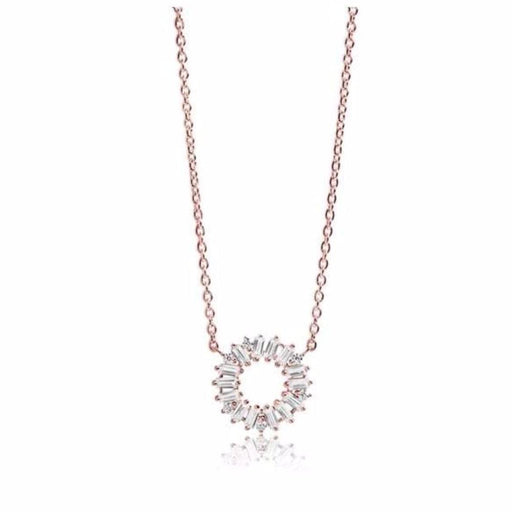 Sif Jakobs Necklace Sif Jakobs rose gold antella circolo necklace