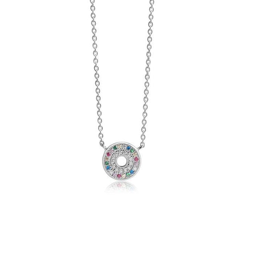 Necklace Sif Jakobs Silver coloured CZ  Valiano necklace