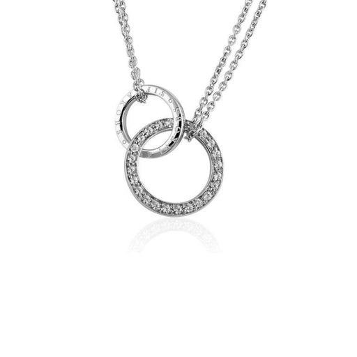 Necklace Sif Jakobs Silver CZ prato uno necklace