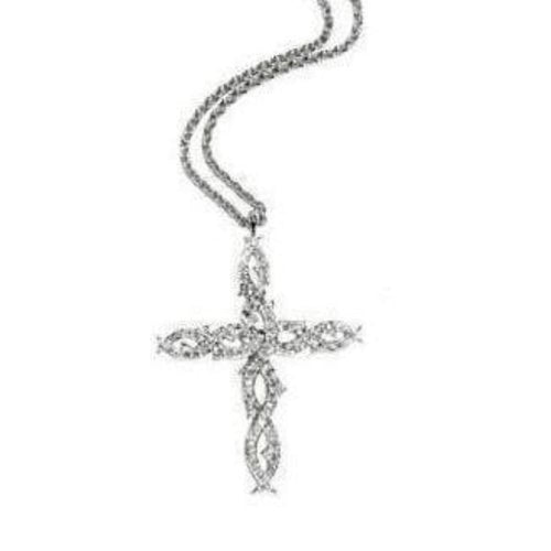 Stephen Webster Pendant Stephen Webster 18ct white gold diamond tattoo cross
