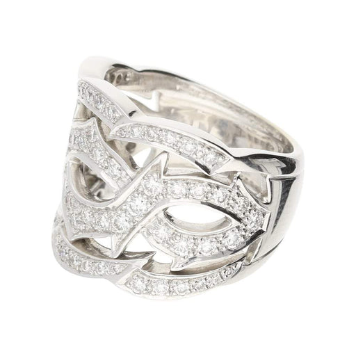 Stephen Webster Ring Stephen Webster 18ct white gold diamond tattoo ring