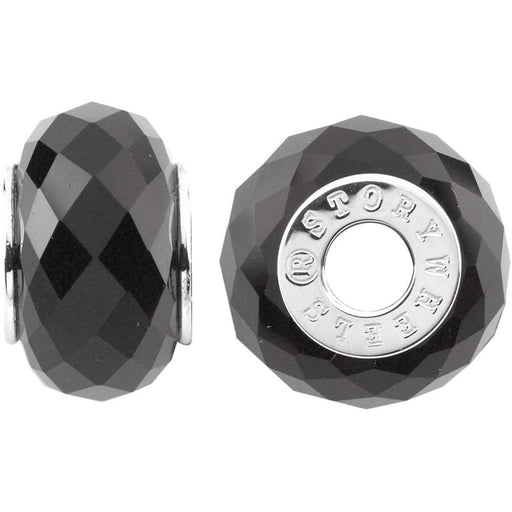 StoryWheels Storywheel Storywheel Silver faceted Onyx wheel
