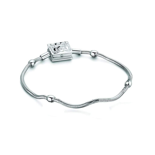 StoryWheels Storywheel Storywheels Silver Diamond snake bracelet